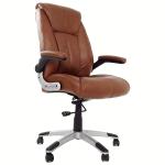 scaun birou B33, maro, picioare gri, zendeco-armonia casei tale (3)
