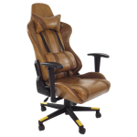 scaun birou gaming luxury B24 camel.zendeco.ro