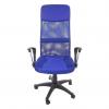 scaun birouB37,albastru,,baza plastic-zendeco (2)