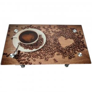Masuta de cafea x51 Cafea Inima/zendeco.ro