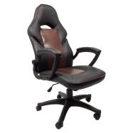 scaun gaming B12 negru si maro