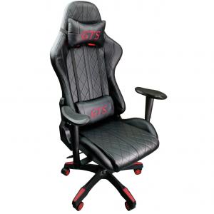 Scaun gaming Arka Aigle B52 rosu negru/promotii scaune.ro