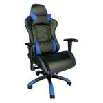 Scaun Gaming PowerRace B22 negru/albastru