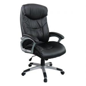 Scaun directorial Comodo B143, negru, Confort/Zendeco.ro