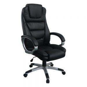 Scaun directorial Comodo B135, negru,Confort/Zendeco.ro
