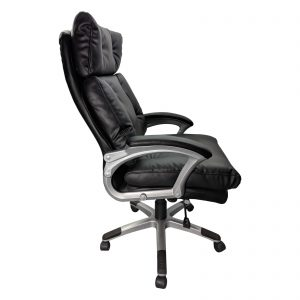 Scaun directorial Comodo B145, negru, confort extrem, Confortul spumei Memory/zendeco.ro