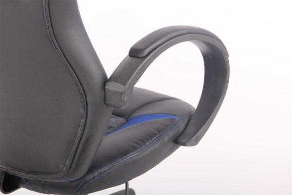 Scaun Gaming Zen B117 negru albastru/zendeco.ro
