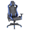 Scaun Gaming Arka Luxury B146b negru albastru /zendeco.ro