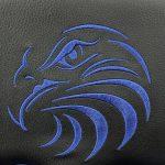 scaun gaming Arka Eagle B54 negru albastru/Zendeco.ro