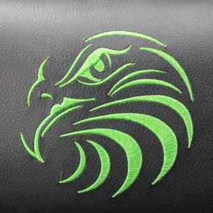 scaun gaming Arka Eagle B54 negru-verde-zendeco.ro