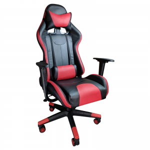 Scaun Gaming ARKA B203 black red, piele ecologica.Zendeco.ro