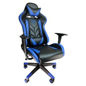 Scaun gaming Phoenix B200 Spider black blue/Zendeco.ro
