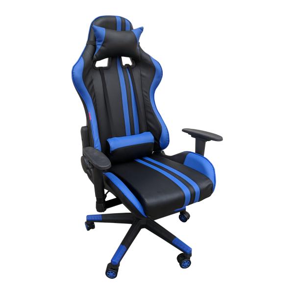 Scaun Gaming Arka B205 RACING V5 black blue/Zendeco.ro