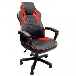 scaun gaming Arka B107 negru rosu/Zendeco.ro
