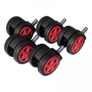 Role plastic pentru sacune gaming black-red/Zendeco.ro