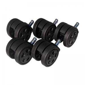 Set 5 Role plastic pentru sacune gaming black/Zendeco.ro