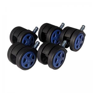 Set 5 Role plastic pentru sacune gaming black-blue/Zendeco.ro