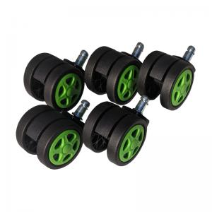 Set 5 Role plastic pentru sacune gaming black-green/Zendeco.ro