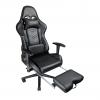 Zendeco.ro/Scaun gaming Arka Line B61 black cu suport picioare