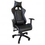 Zendeco.ro-Scaun Gaming B208 Racing V6, negru, piele ecologica