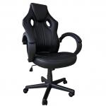Scaun gaming Arka B211 Black, piele ecologica/Zendeco.ro