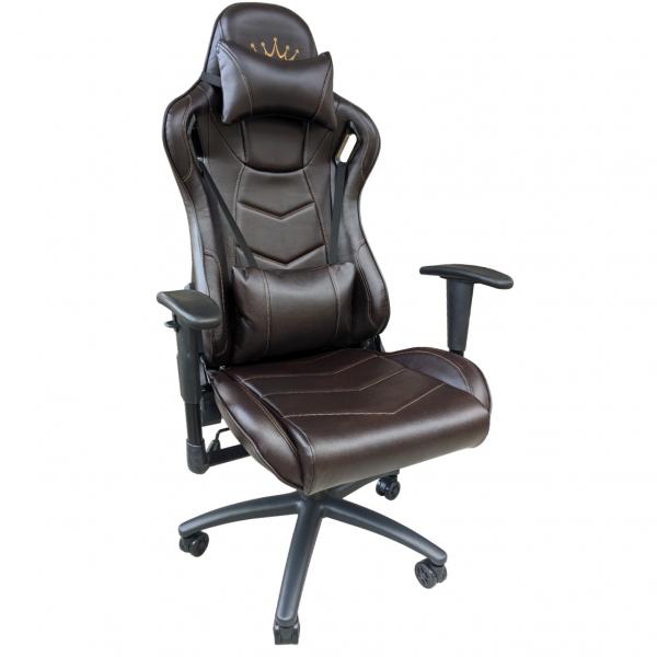 Zendeco.ro-Scaun gaming Arka B147 Racing, negru, spatar reglabila piele ecologica/Zendeco.ro