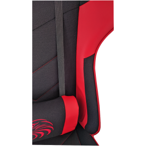 Scaun gaming B54 Eagle black red textil