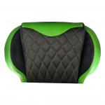 Zendeco.ro-Scaun Gaming B6 Spider black green,piele ecologica