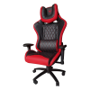 Scaun Gaming B6 Spider fonctie masaj black red,piele ecologica
