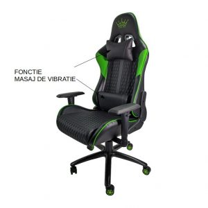 Scaun Arka Chairs B62 verde cu fonctie masaj