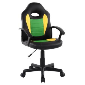 Scaun birou B11 verde galben pentru copii
