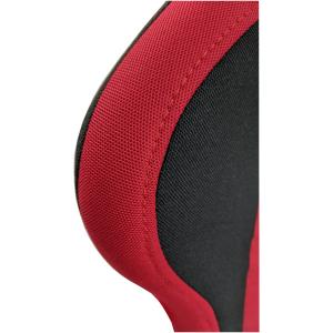 Scaun gaming B207 Spider textil negru rosu