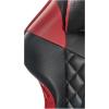 Scaun gaming B213 Spider negru rosu carbon piele ecologica perforata