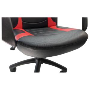 Scaun ergonomica Arka Chairs B15 negru rosu