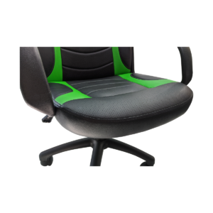 Scaun ergonomica Arka Chairs B15 negru verde