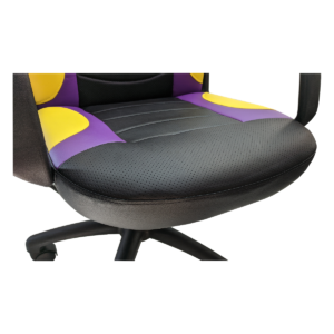 Scaun gaming Arka Chairs B15 violet galben