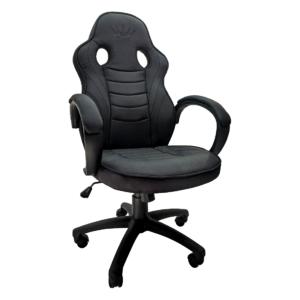 Scaun ergonomica Arka Chairs B99 negru textil,