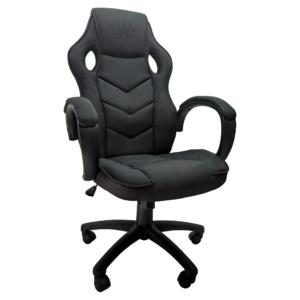 Scaun gaming Arka B19, negru textil anti transpiratie