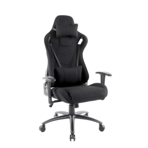 Scaun gaming Arka Chairs B147 black textil anti transpiratie