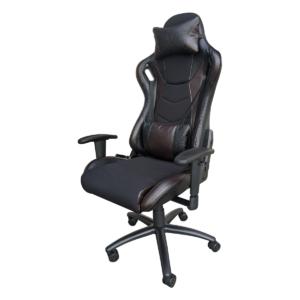 Scaun gaming Arka Chairs B147 negru maro Hibrid anti transpiratie