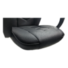 Scaun gaming Arka B19 negru, piele anti transpiratie, perforata, ecologica