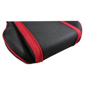 Scaun gaming Arka B64 rosu Bluetooth cu boxe incorporate, material textil