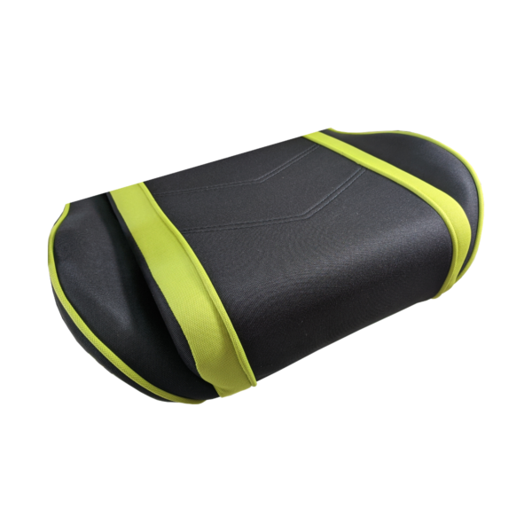 Scaun gaming Arka Chairs B64 verde textil cu boxe incorporate