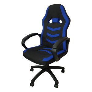 Scaun gaming Arka Chairs B16 blue, material textil anti transpiratie