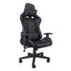 Scaun Gaming Arka Chairs B54 All black, piele antitranspiratie perforata ecologica