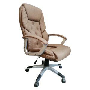Scaun directorial Arka Chairs Comodo B26 PRO textil bej