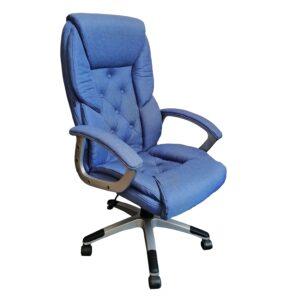 Scaun directorial Arka Chairs Comodo B26 PRO textil blue