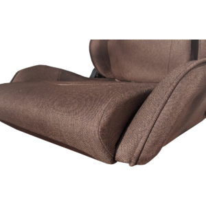 Scaun Gaming Arka Line B61 textil maro cu suport picioare