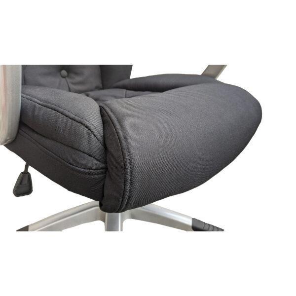 Scaun directorial Arka Chairs Comodo B26 textil negru