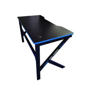 Birou Arka Gaming Z3, Profesional, suprafata negru albastru carbon 120*60cm